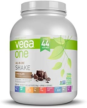 Vega All In One Nutritional Based Protein Powder Black magnetic 44 Servings Pack of 1 71 5 Ounce product image