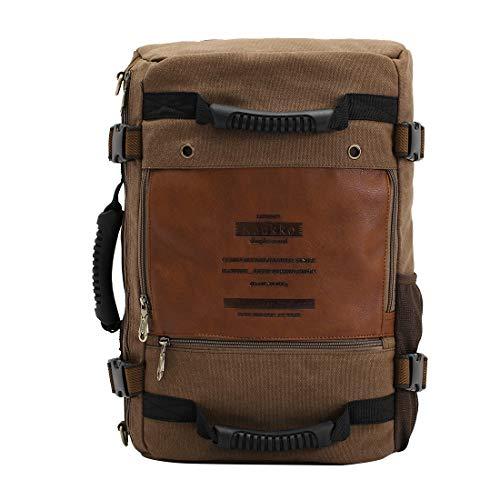 CELINEZL Bags KAUKKO FH09 Mode Multifonctionnel pour Hommes Sac à bandoulière en Toile Sac à Main Sac à bandoulière Sac de randonnée en Plein air Sac de Voyage, Format: 45 x 29 x 17 cm (Kaki)