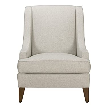 Ethan Allen Emerson Chair, Hailey Natural Textured Fabric
