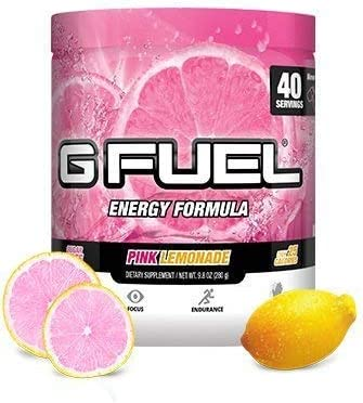 Gamma Enterprises G Fuel Nutrition Supplement, Pink Lemonade 9.8oz (280g)