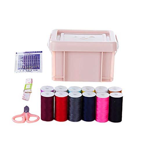 Yue668 - Caja de costura portátil para el día a día, 15 unidades