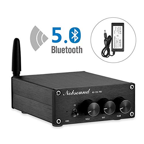 Nobsound NS-15G PRO Bluetooth 5.0 Amplificador digital PCM5102A Decodificación; 100W × 2 con fuente de alimentación (NS-15G PRO)