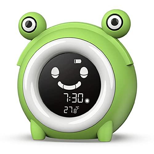 Despertador de dormitorio para niños, reloj digital Ok To Wake para el entrenamiento del sueño para niños con alarma y temporizador