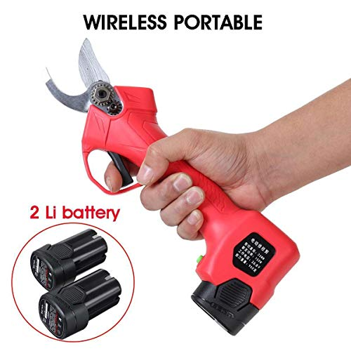 Purchase no logo Power Hedge Trimmers, Cordless Electric Pruning Shears Less, Contain 2X Battery 16....