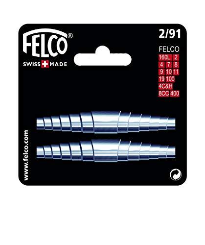 FELCO Ersatzfeder 2er Set für Gartenscheren (geeignet für FELCO 160L, 2, 7, 8, 9, 10, 11, 19, 100, 4C&H, Ersatzteil für Gartenwerkzeug) FELCO 2/91
