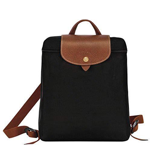 Longchamp Le Pliage Backpack (Black)