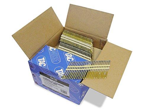 Tacwise 0436 Streifennägel Plastikgebunden Verzinkt 22° 3,1/90mm (3.000 Stück)