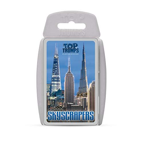 Skyscraper Top Trumps Kartenspiel