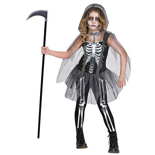 Haunted House S Costume per travestimento da Scheletro con falce Bambini