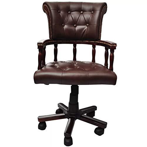 Chefsessel Drehstuhl Bürostuhl Chesterfield Bürosessel Bürodrehstuhl