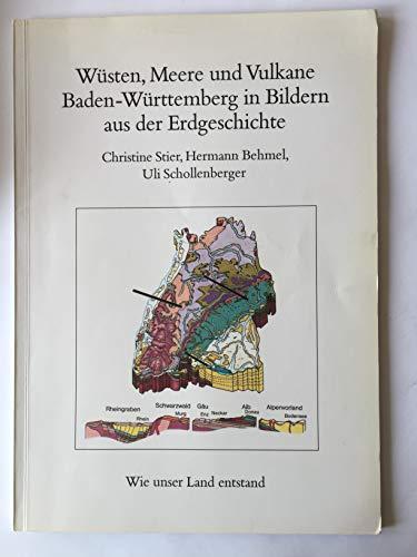 Wüsten, Meere und Vulkane. Baden-Württemberg in Bildern aus der Erdgeschichte. Geologische Uhr und Landschaftsmodell