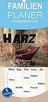 Verlassene Orte im Harz - Familienplaner hoch (Wandkalender 2022 , 21 cm x 45 cm, hoch): Ein faszinierender Einblick in eine laengst vergessene Zeit. (Monatskalender, 14 Seiten )