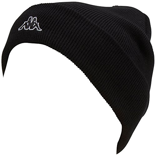 Kappa Cap Brissago Mütze, Black, One Size, 390319 K