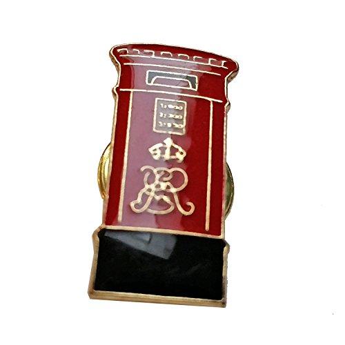 Insignia Buzón Británico - Pin Perno de la Solapa / Recuerdo de Londres / Souvenir de Inglaterra Reino Unido