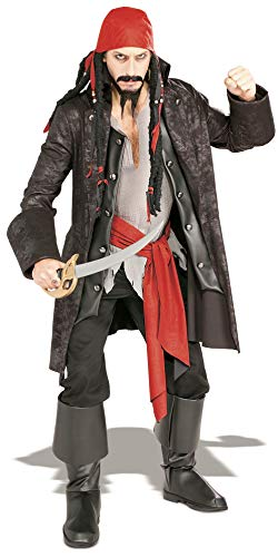 Rubbies 16844STD - Disfraz de capitán para hombre, talla M