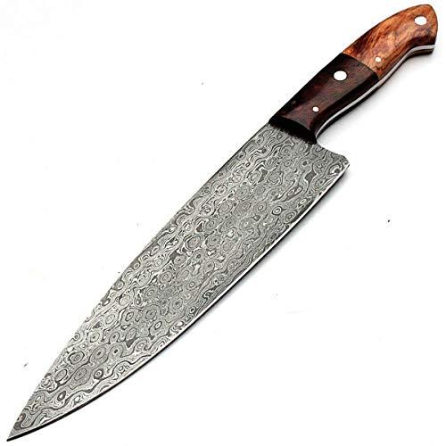 MNSR-8791 - Cuchillo de damasco hecho a mano