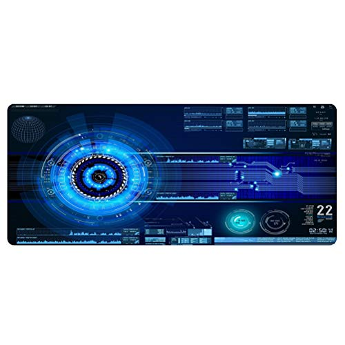 Extend Large Mouse Pad Gaming Oversized Mousepad Custom Mouse Mat XL Anime Non-Slip Rubber Mousepad Computer Mat for Desk Office&Home Circuit Board Mouse Pad (A-27.56x11.81in)