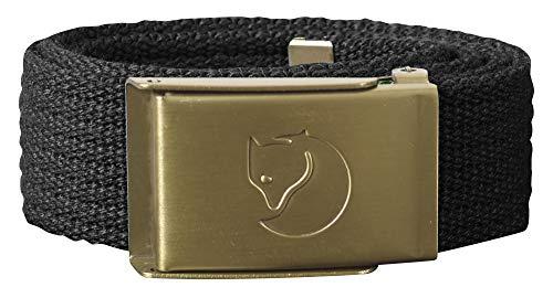 Fjallraven 77314 Kids Canvas Brass Belt Belt Unisex-Child Dark Grey One Size