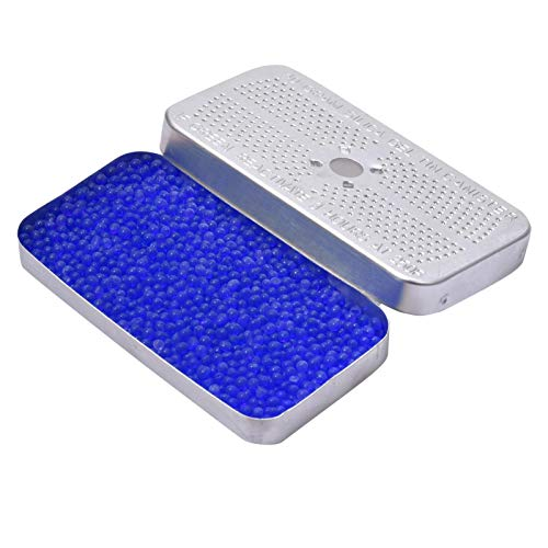 persiverney-AT Deshumidificador de coche de gel de sílice bidones desecantes indicadores reutilizables evita la condensación y el moho para alimentos cámaras cajas fuertes armarios de cocina practical