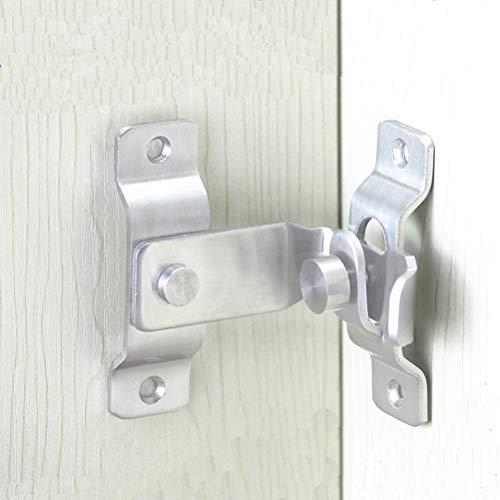 DINGCHI 90 graden slot sleepdeurslot veiligheidsslot pin hasp klemmen kettingklemmen gereedschap hardware voor ramen kast hotel home vergrendeling hoekgesp/haak vergrendelen