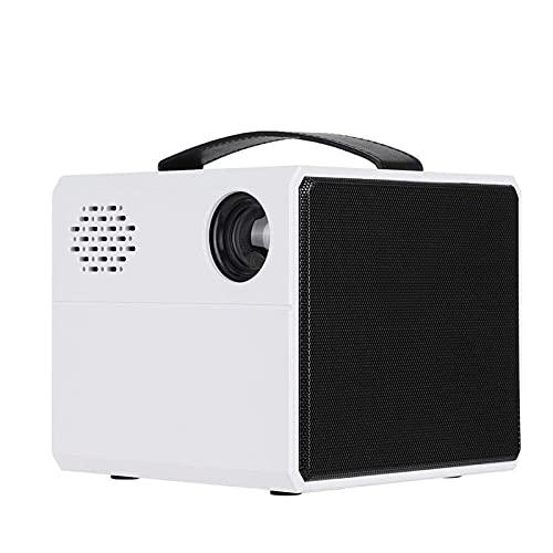 Kettles Mini proyector con Mango 2in portátil 1080P Pantalla de vídeo proyector de Cine en casa con 30000 Horas de Vida de la lámpara LED para el Cine en casa de la Fiesta del Juego