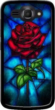 MOBILINNOV Huawei Ascend Y540 Rose Eternelle Silikon Hülle Handyhülle Schutzhülle - Zubehor Etui Smartphone Huawei Ascend Y540 Accessoires