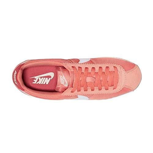 Nike Women's Classic Cortez Nylon Shoe, Zapatillas de Trail Running Mujer, Rosa (Rose Gold/Summit White/Light Redwood 611), 36 EU