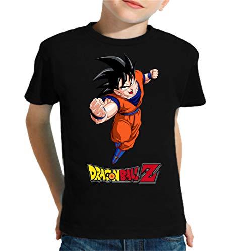 The Fan Tee Camiseta de NIÑOS Dragon Ball Goku Vegeta Bolas de Dragon Super Saiyan 067...