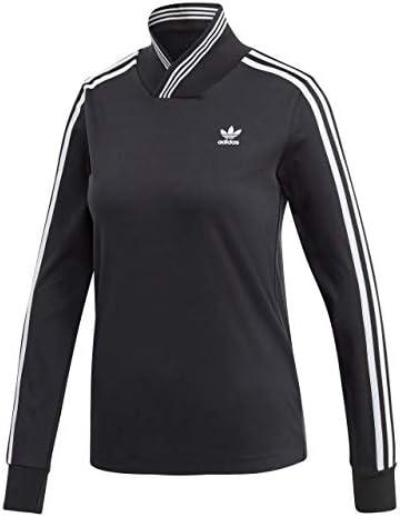 Adidas Camiseta de Manga Larga Color Negro para Mujer