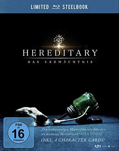 Produktbild von Hereditary - Das Vermächtnis. Limited Steelbook inkl. 4 Character Cards [Blu-ray]