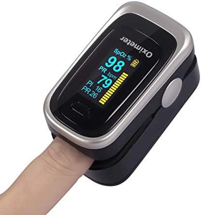 TX Pinza De Dedo Oxímetro Legumbres Comprobador De Saturación De Oxígeno En Sangre Frecuencia Cardíaca Presión Arterial Monitor De Sueño Respiratorio