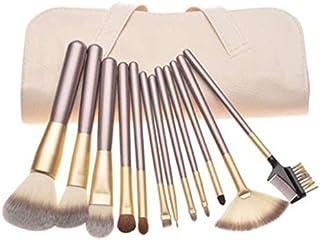 18 pec Makeup Brush Set w/Pouch Blush, Eyeshadow,Eyebrow,Eyelash,Lip Tool Kit