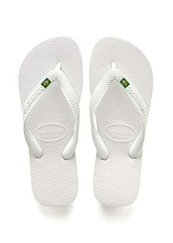 Havaianas Women's Top Sandal, White,45/46 BR