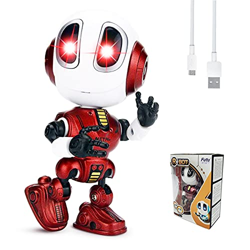 FUTU SMART Rechargeable Mini Robot Toy Suitable For Boys Girls Aged...