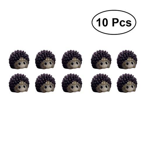SUPVOX 10 piezas mini adornos de jardín en miniatura lindos dibujos animados...