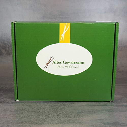 Altes Gewürzamt Gewürze Geschenk-Box Jerusalem - Baharat, Raz el Hanout, Gemüsezauber, Kreuzkümmel, Sumach, Zimtblüten