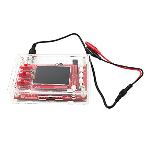 joyMerit Mini Osciloscopio Digital DIY Kit Piezas SMD Pre-Soldado 1MSa / S
