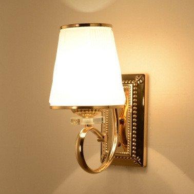QSM Accesorio de Pared de Pared Interior Minimalista Moderno, lámpara de Pared de Estilo Industrial Lámpara de Pared de cabecero de Cama de Hierro Forjado Lámpara de Pared de lámpara led de Exterior,
