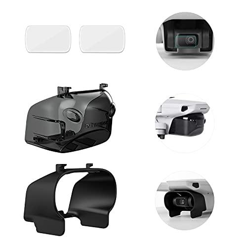 iEago RC Mini 2 Paraluce Antiriflesso + Copriobiettivo Protettiva + 9H Pellicola Temperata, Antipolvere Cardanico Protezione Della Fotocamera Accessori per DJI Mavic Mini / Mini 2 / Mini SE Drone