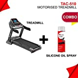 PowerMax Fitness TAC-510 4HP (6HP Peak) Motorized Treadmill with Free Installation Assistance, Home Use & Automatic Incline commercial treadmills Nov, 2020
