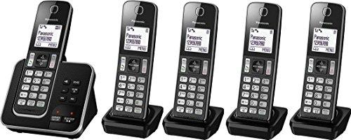 Panasonic kx-tgd325eb Quintet Digitale Cordless...