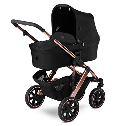 Kinderwagen Buggy Kombikinderwagen ABC DESIGN SALSA 4 AIR (3IN1 SET) + BABYSCHALE ABC TULIP (rose-gold)