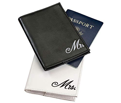 Lillian Rose 4'x5.5' Mrs. Passport Covers