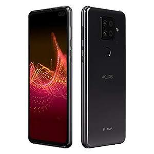 SHARP SIM-free Smartphone AQUOS SENSE4 PLUS Black