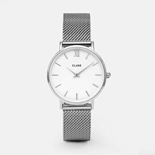Cluse Damen Armbanduhr Analog Quarz Edelstahl CL30009