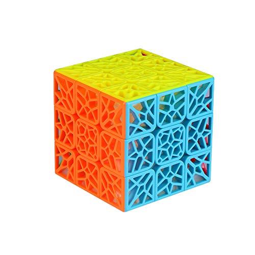 Ludokubo Cubo DNA 3x3 Plano - Qiyi - Stickerless