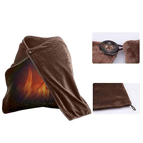 GzxLaY Heizschal Physiotherapie Warm Schal Schal, USB Heizkissen Kissen beheizt Würfe für Frauen Mädchen Home...