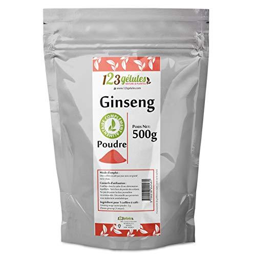 Poudre de Ginseng rouge Panax 500 gr