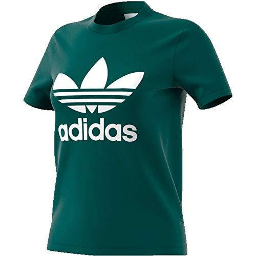 adidas ED7496, T-Shirts Donna, Noble Green, 46