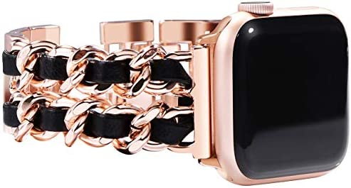 NewWays Compatible for Apple Watch Band 38mm Women Jewelry Bracelet for Apple Watch Band 40mm product image